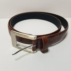 Vintage Perry Ellis Leather Belt